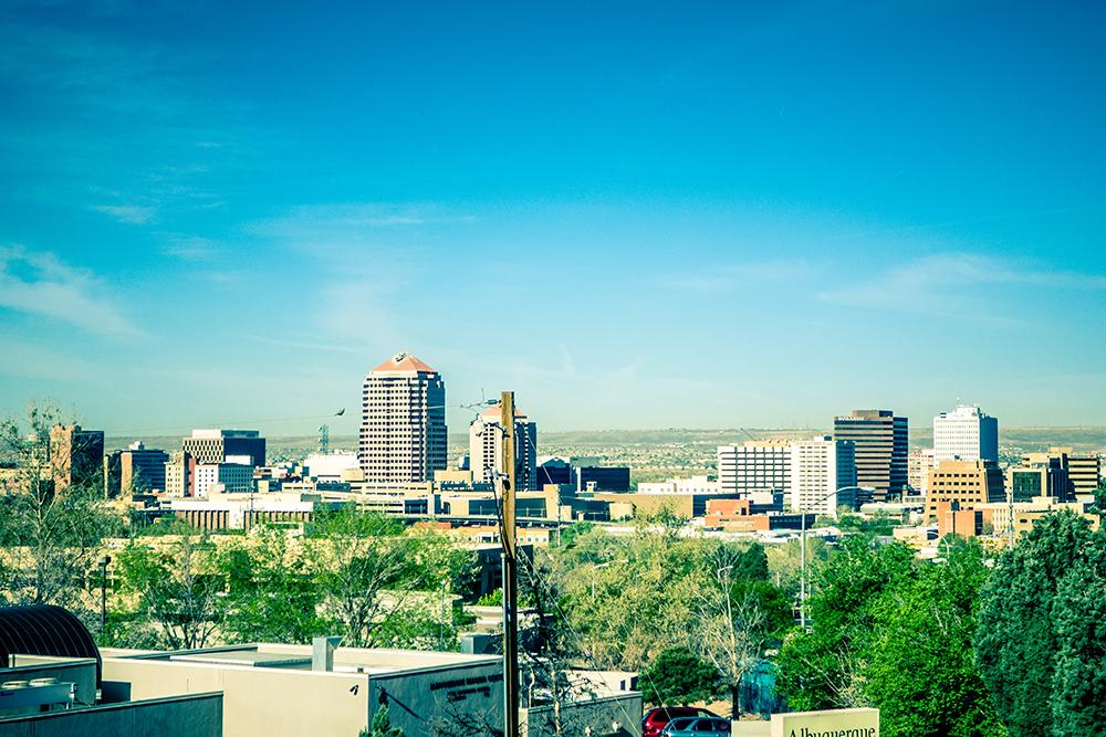 Albuquerque Skyline.