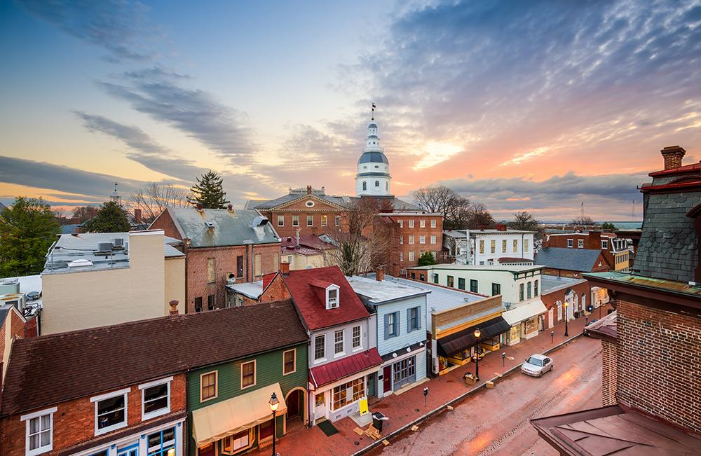 Annapolis Skyline.