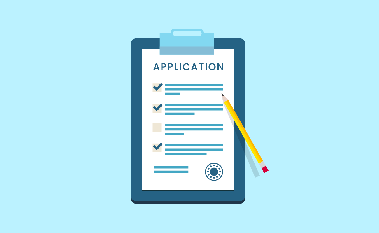 Illustration of a Mortgage Application.