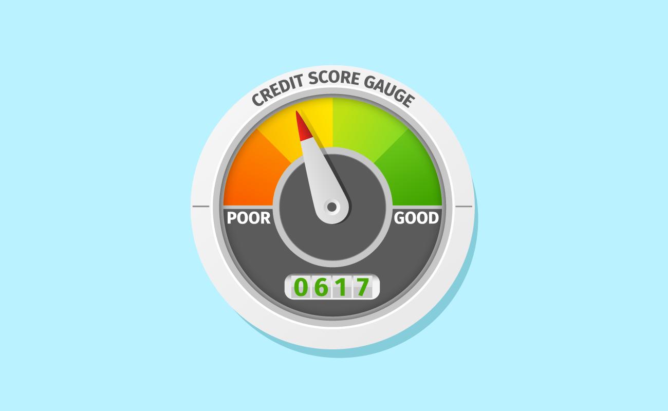 Credit Score Meter.