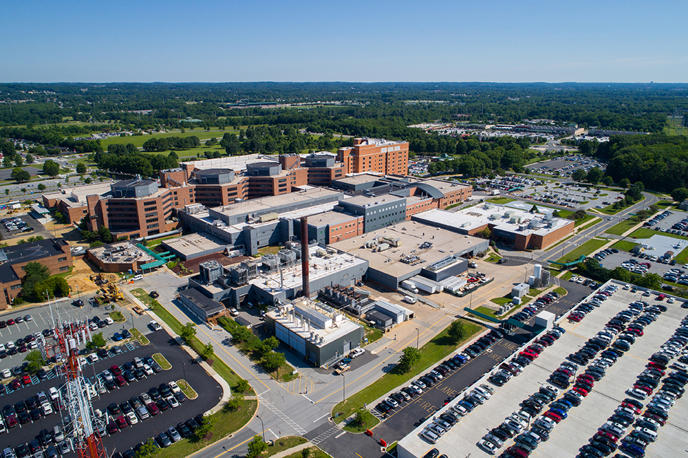 Christiana Hospital in Newark, Delaware.