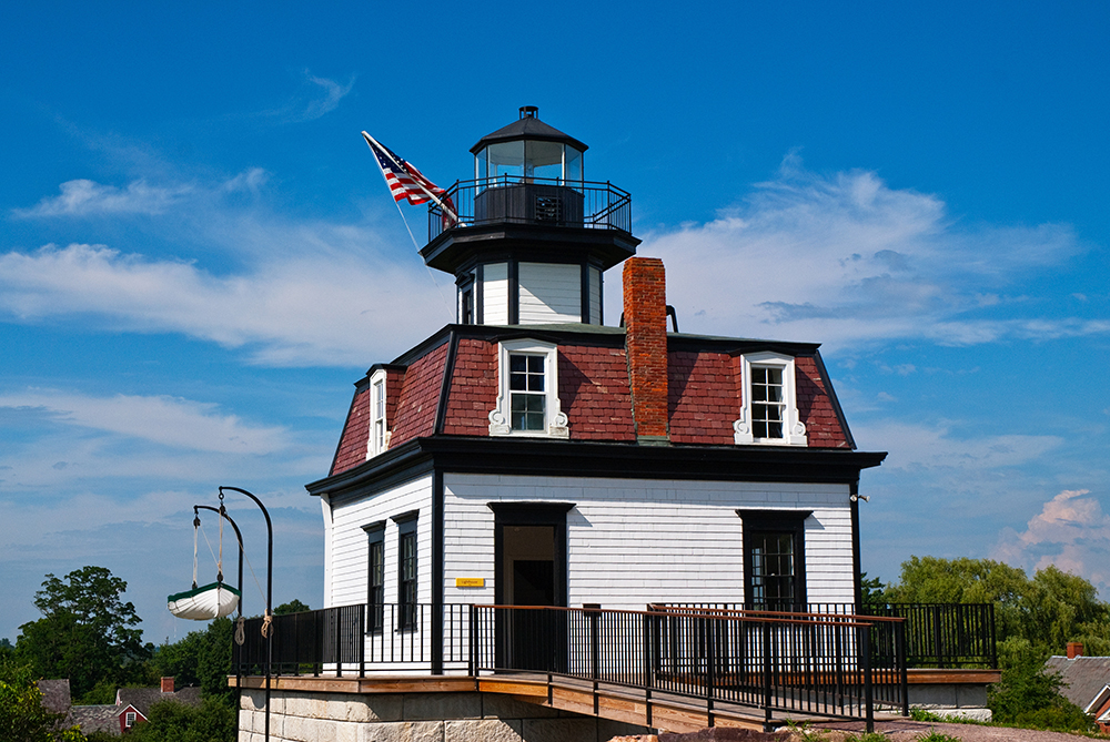 Colchester Reef Lighthouse.