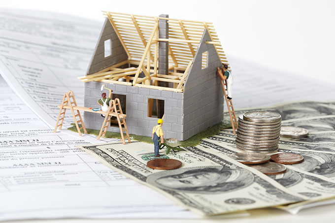 New home construction loans va fha construction to perm for How to finance building a new home