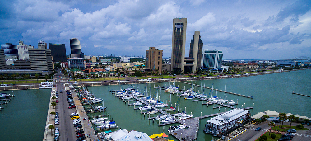Corpus Christi Waterfront.
