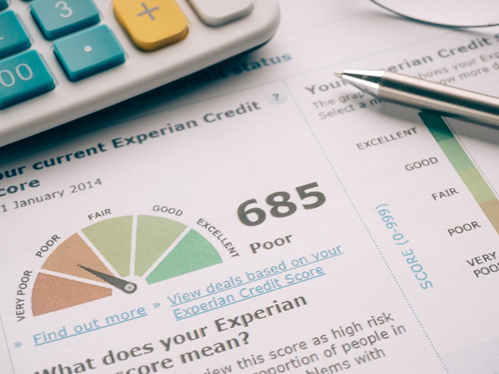 Credit Report.