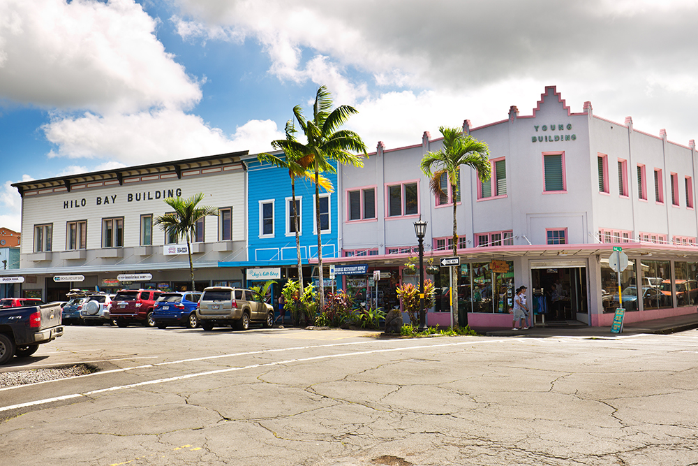 Downtown Hilo.