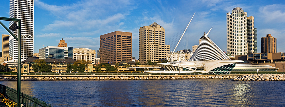 Downtown Milwaukee.