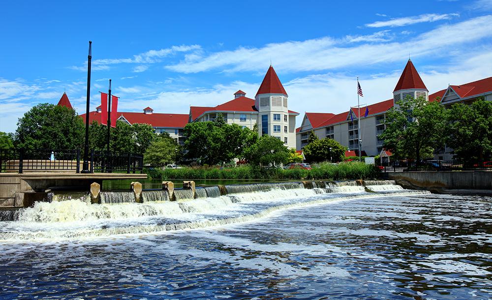 Downtown Waukesha.