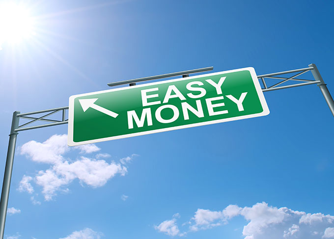 sign to easy money