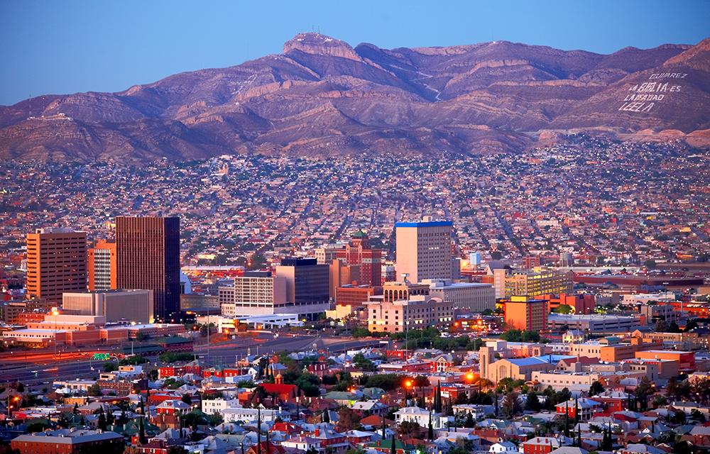 El Paso Skyline.