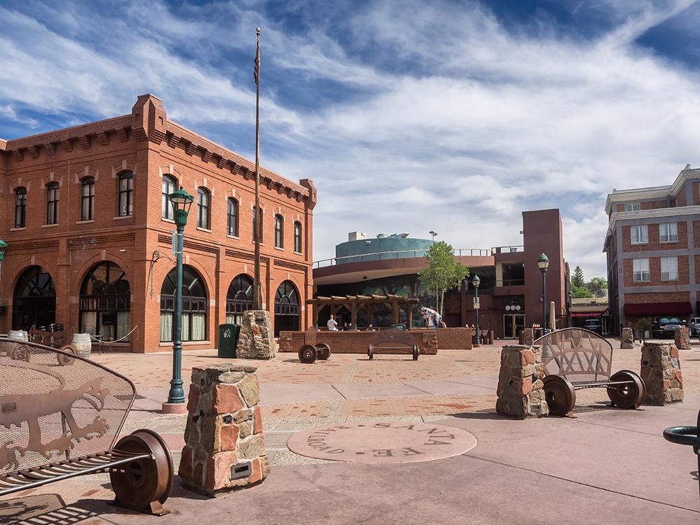 Flagstaff, AZ Main Square.