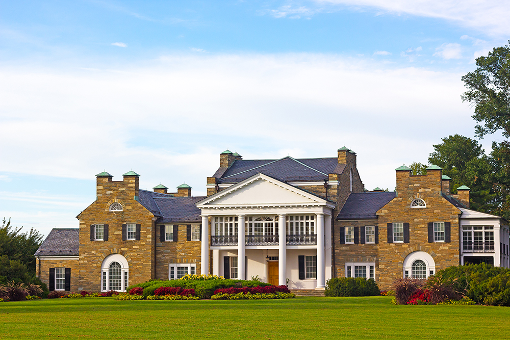 Glenview Mansion in Rockville, Maryland.