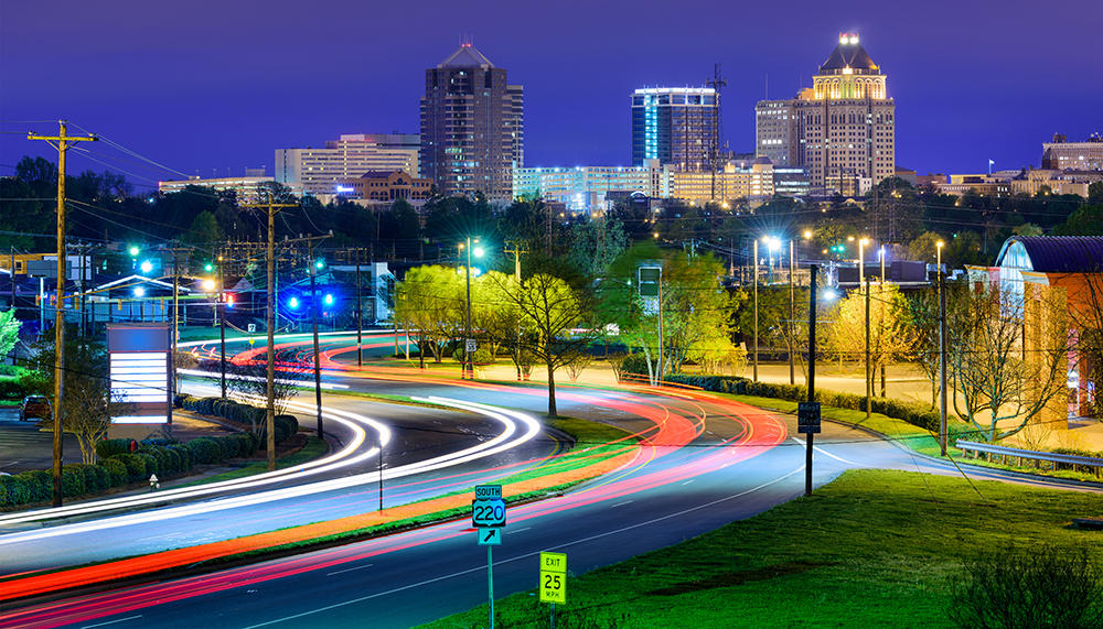 Greensboro Skyline.