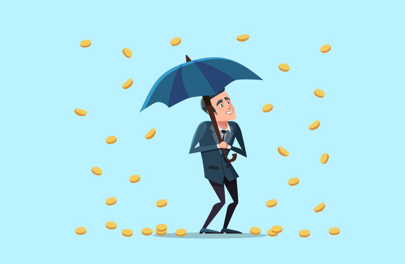 It IS Raining Money.