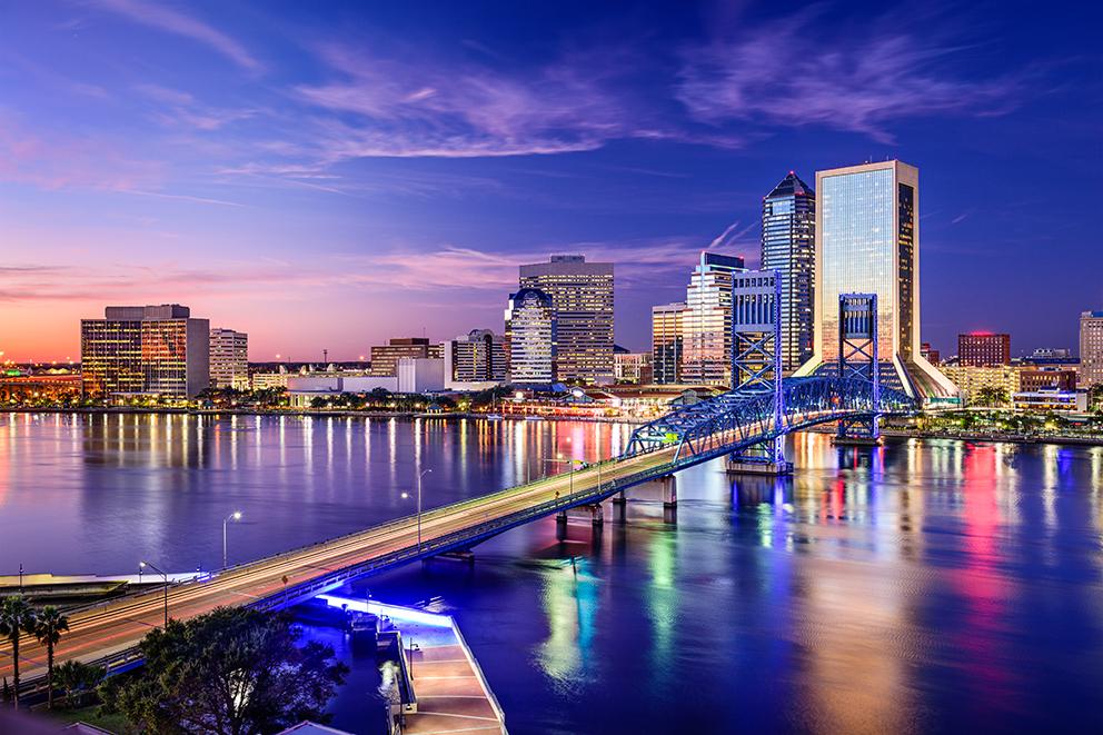 Jacksonville Skyline.