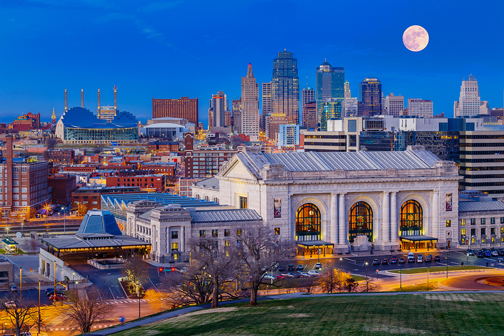 Full Moon Over Kansas City.
