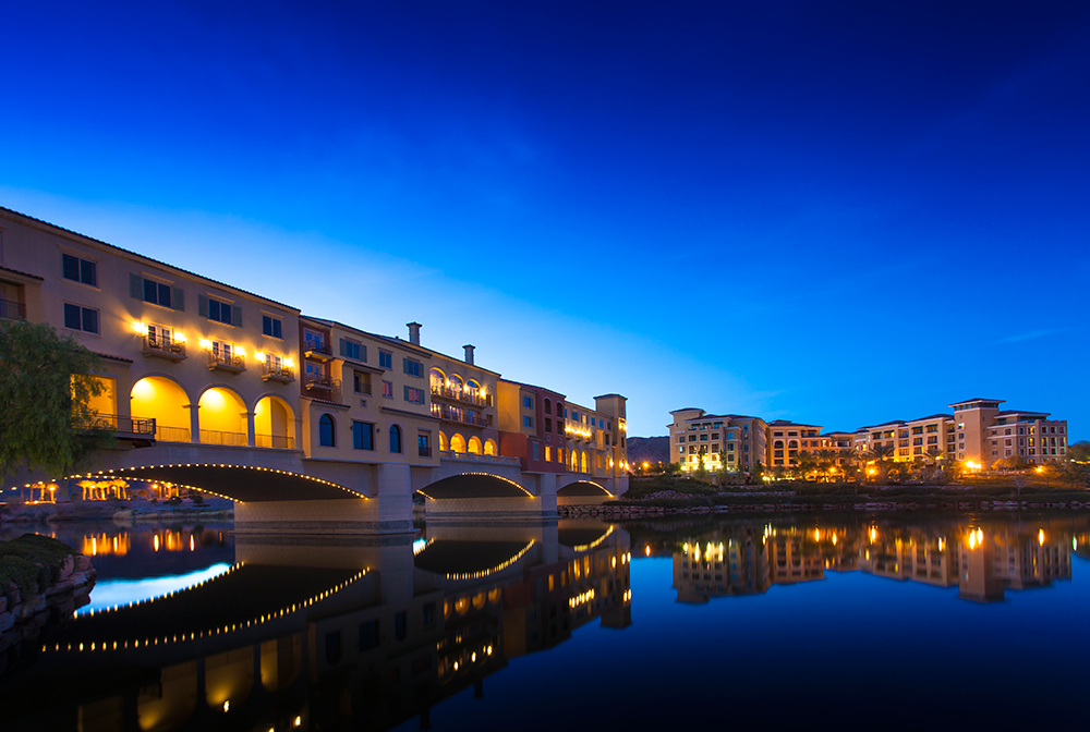 Lake Las Vegas in Henderson, NV.