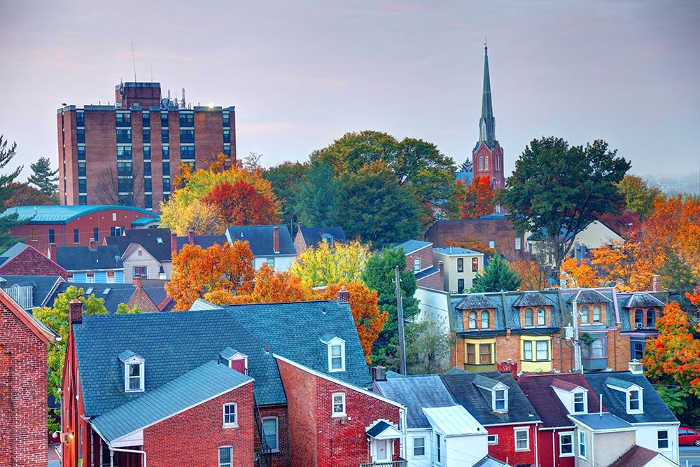 Lancaster, PA Skyline.