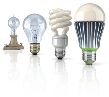 The Evolution of Light Bulbs.