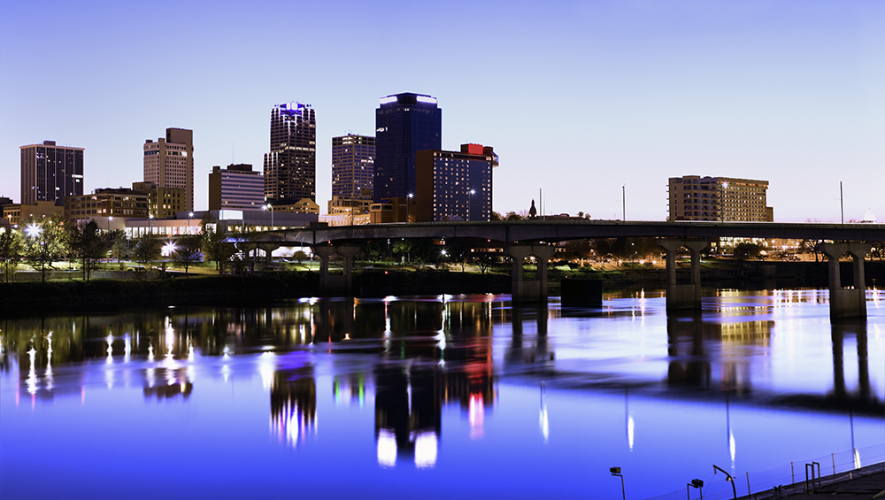 Little Rock Skyline.
