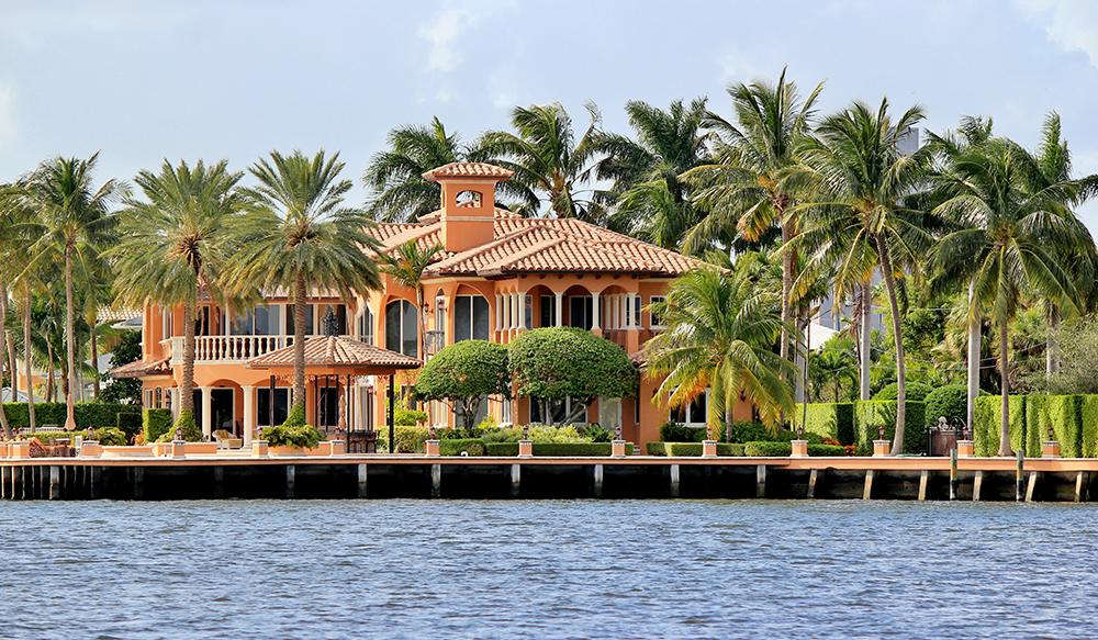 Luxury Watefront Home.