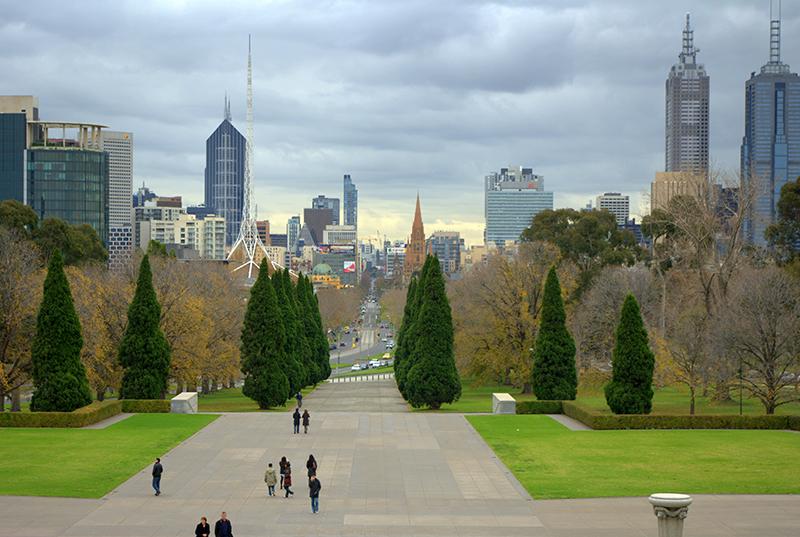 City Centre in Melbourne.