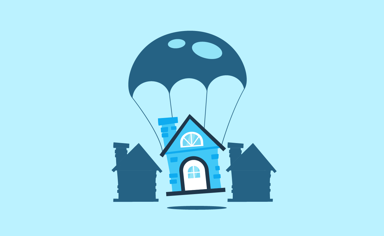 House with a Parachute.