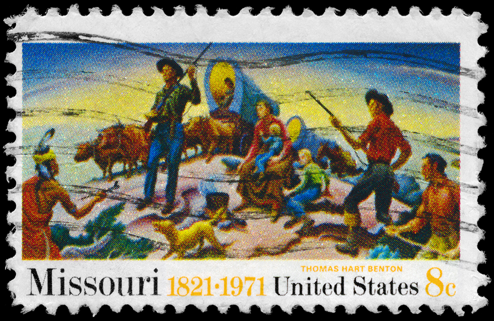 Missouri Stamp.
