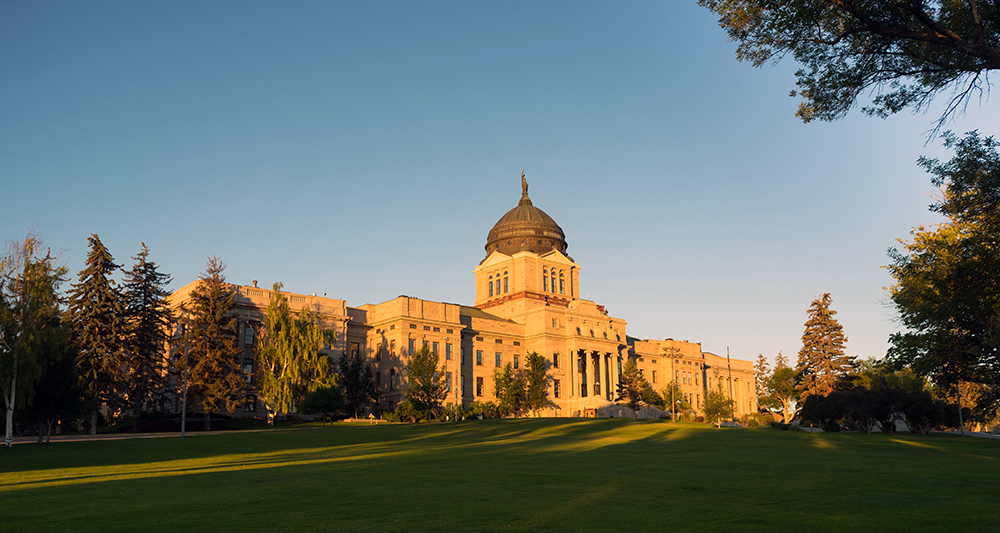 Montana State Capitol Building.