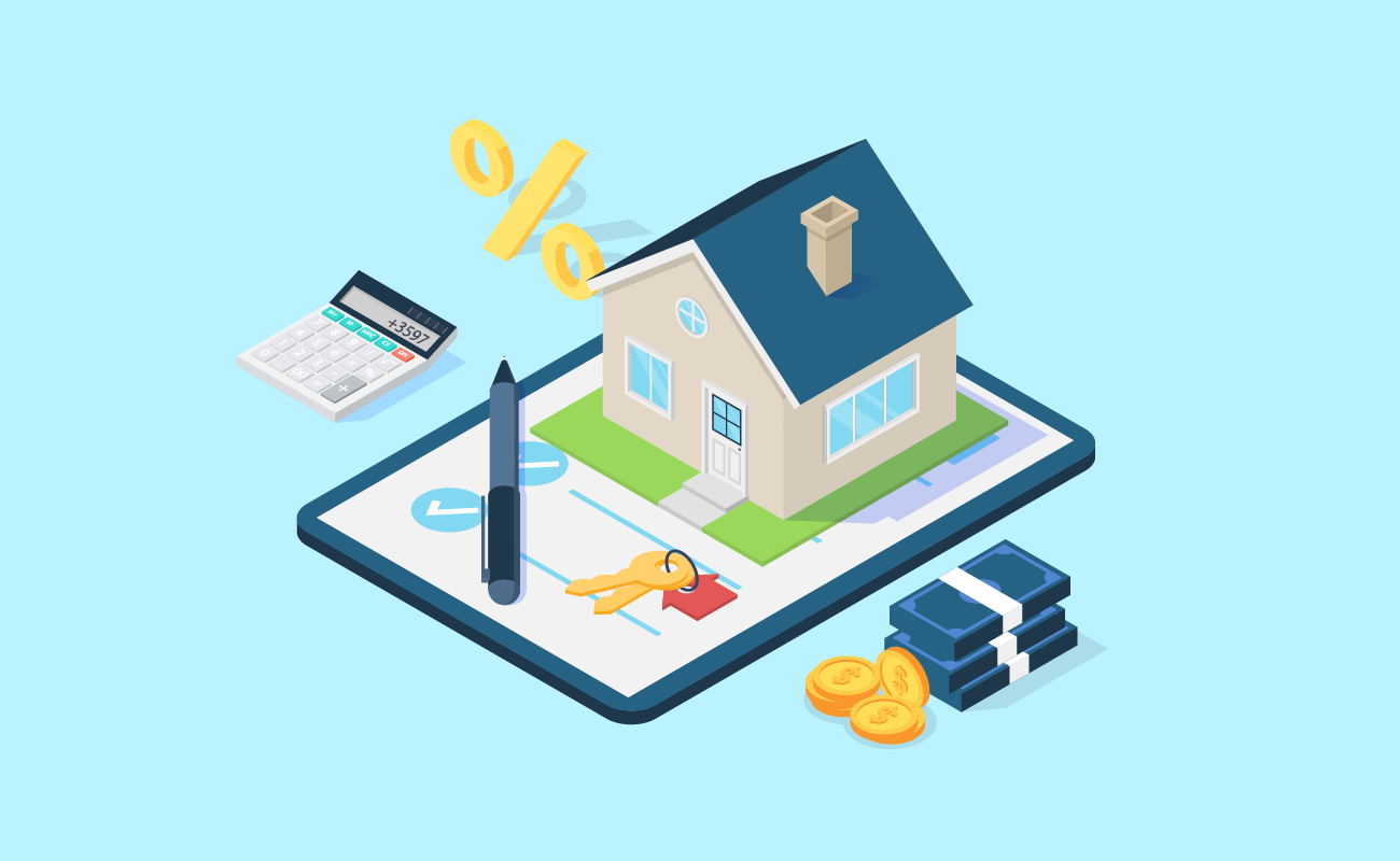 Illustration of Calculating Monthly Mortgage Payments.