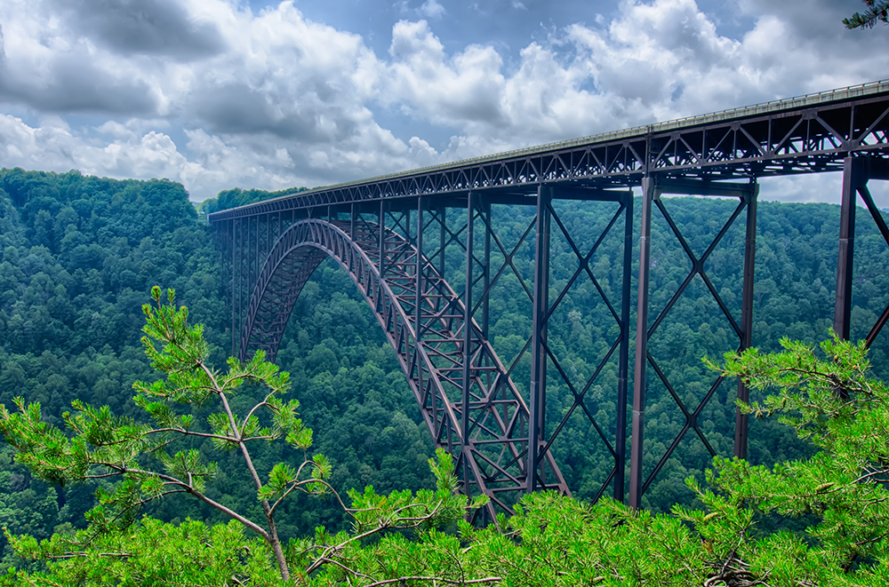 New River Gorge Bridge in West Virginia.