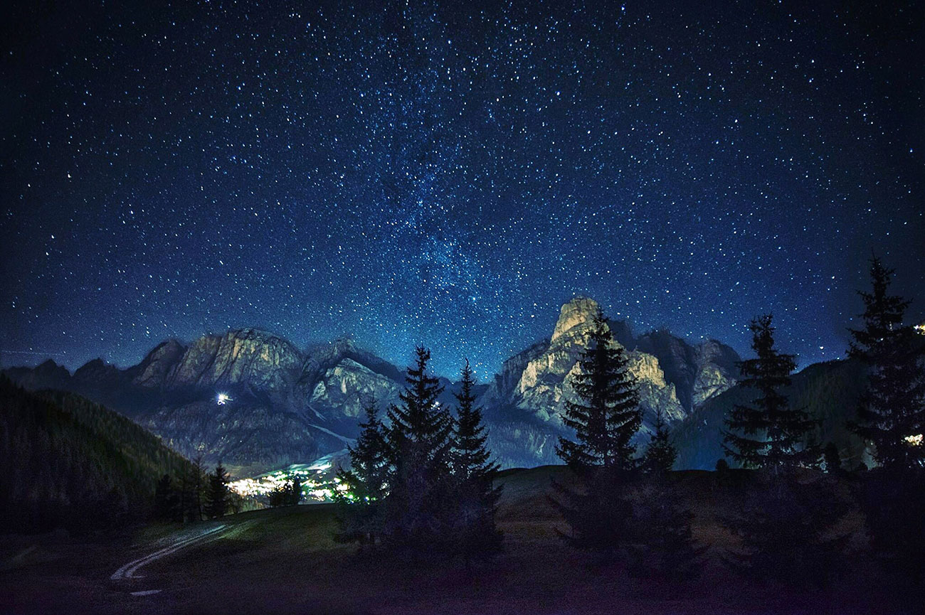 Night in the Mountains.