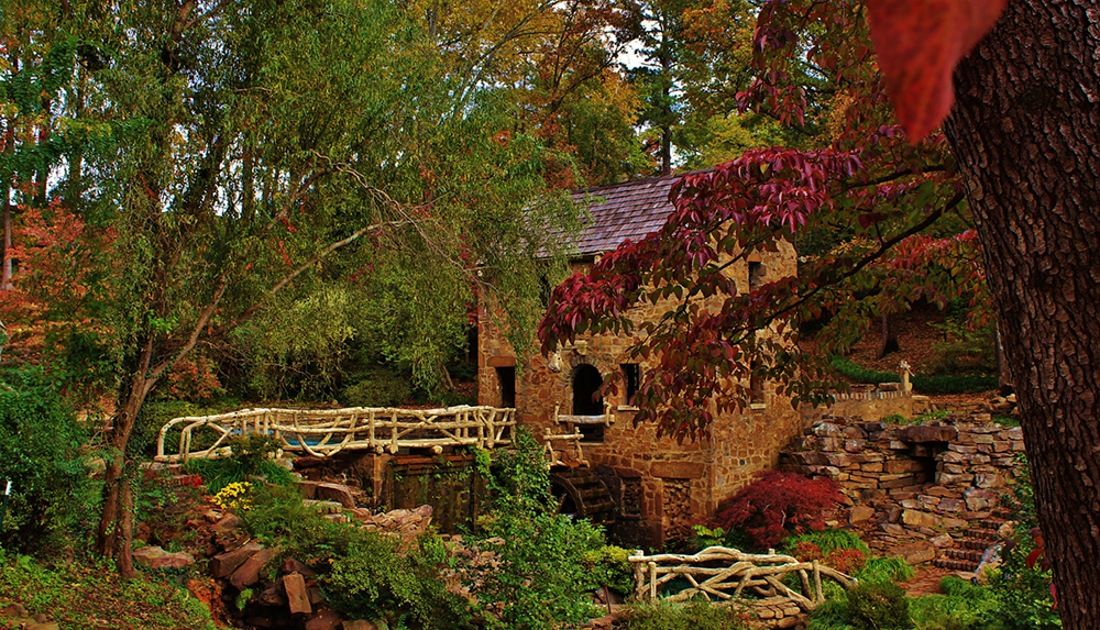 Old Mill North of Little Rock, Arkansas.