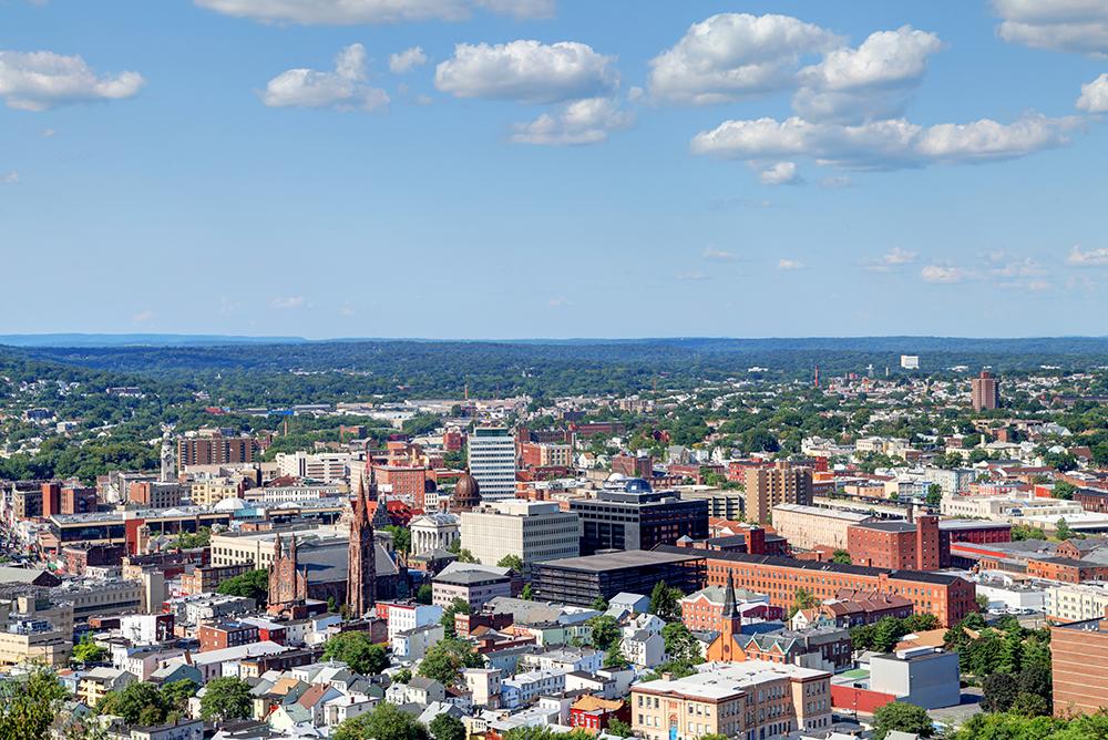 Paterson, NJ Skyline.