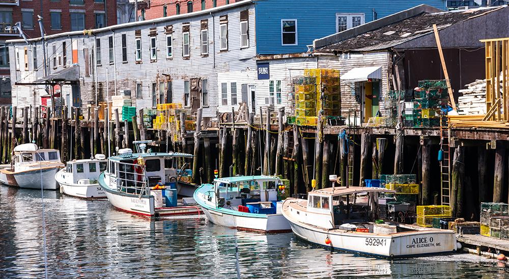 Portland, Maine Harbor.