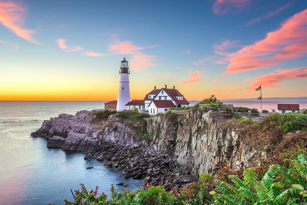 Portland Head Lighthouse.