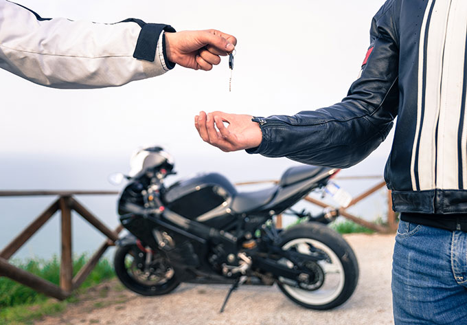purchasing a motorcycle