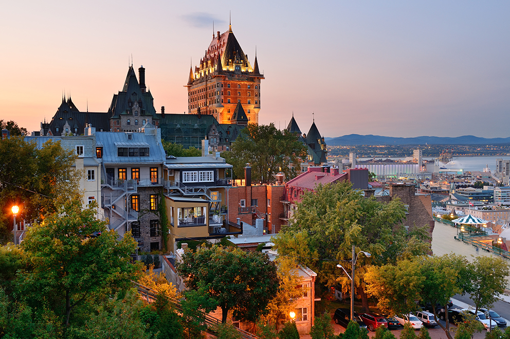 Quebec City.