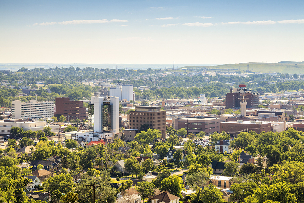 Rapid City Skyline.