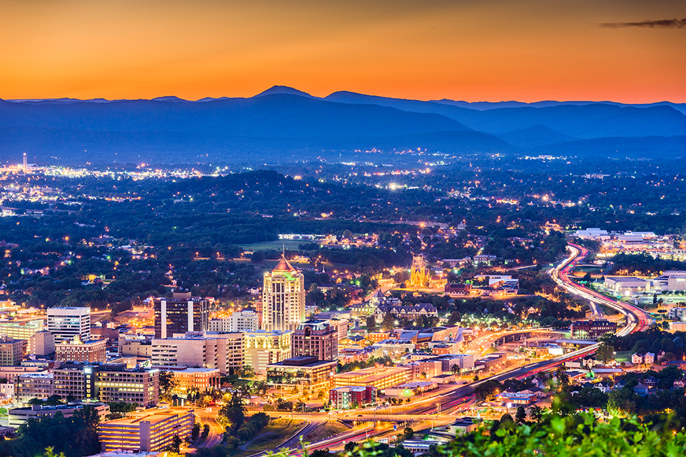 Roanoke Skyline.