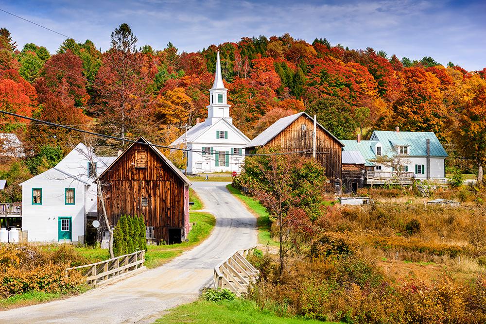 Rural Vermont.