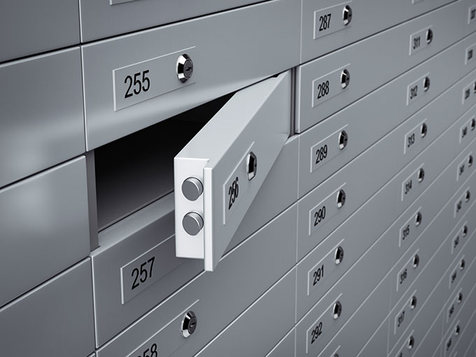 Safe Deposit Box Rates What To Put In Safety Deposit Boxes In Banks