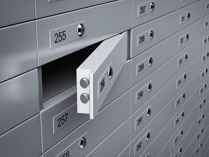Safe Deposit Box Rates What To Put In Safety Deposit
