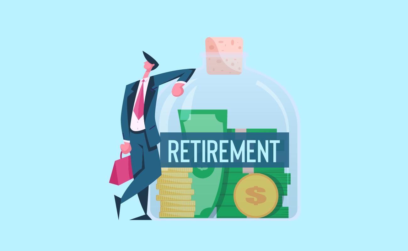 Saving for retirement.