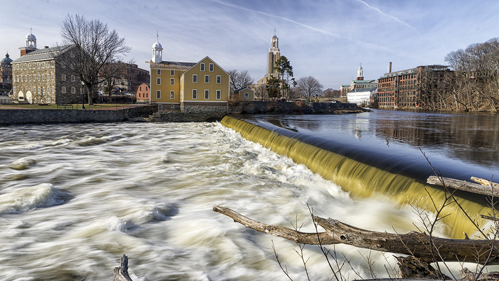 Slater's Mill in Pawtucket.