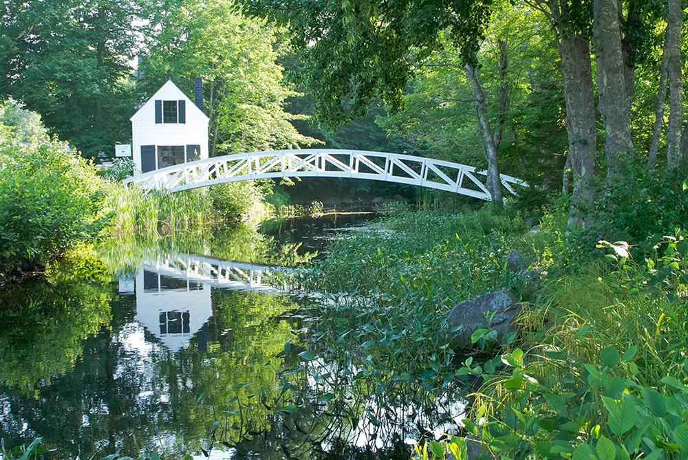 Wooden Bridge in Somesville.