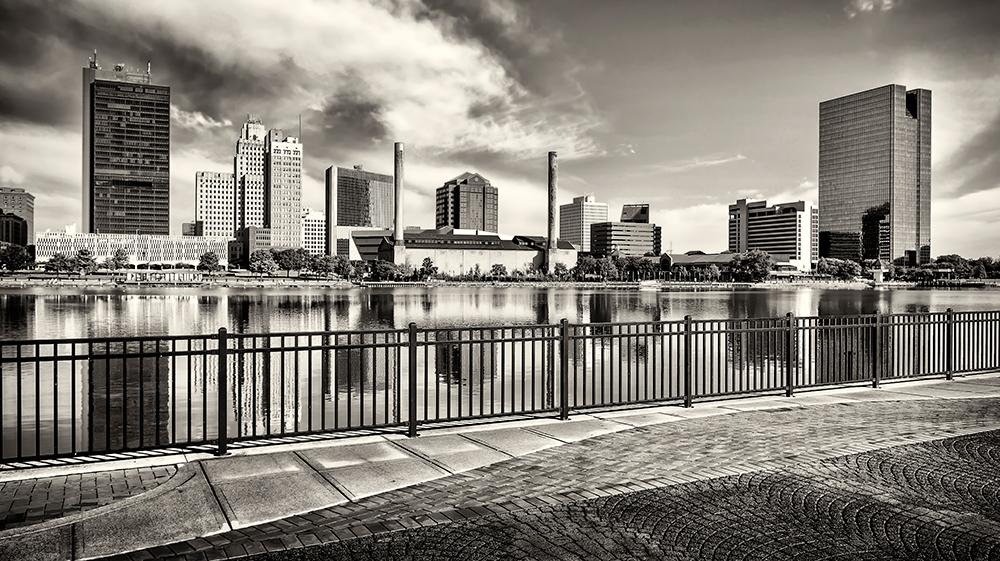 Toledo, Ohio Skyline.