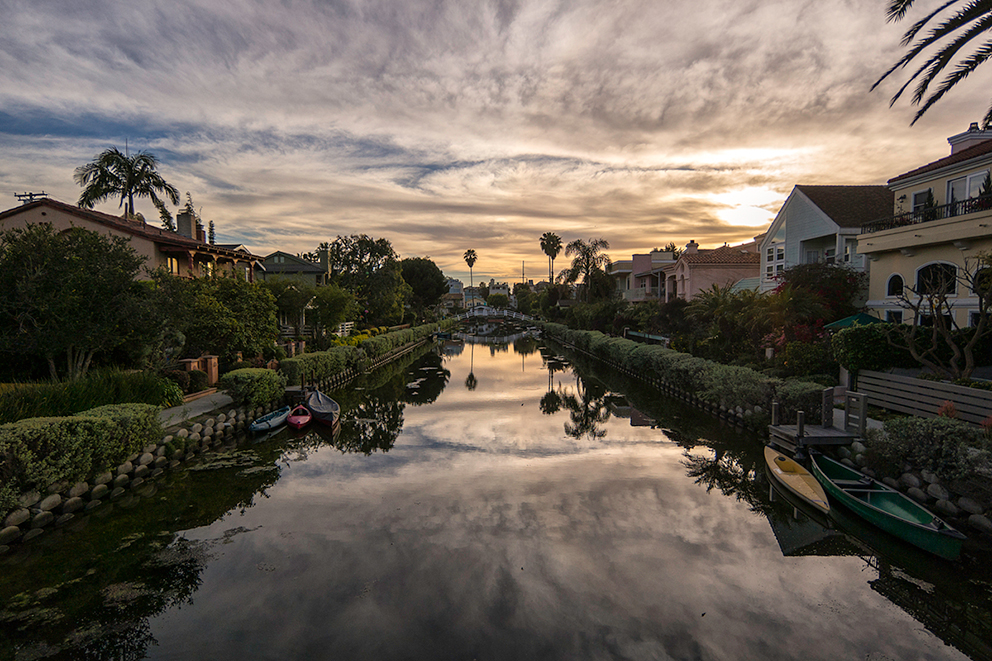 Venice Canal Historic District.