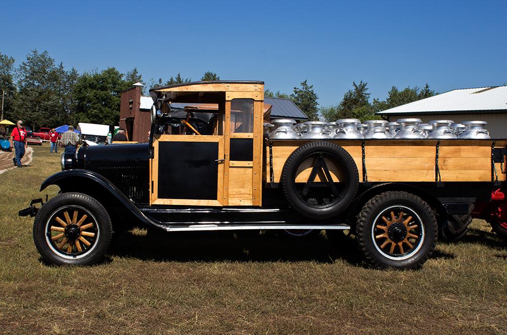 Vintage Milk Truck.