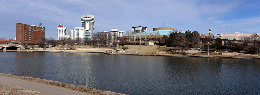 Wichita Skyline.